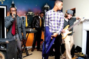 Atlanta band Anthem at the beatlanta house