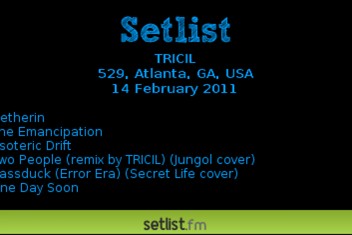 "Free Music Week #2 – Free Music from Atlanta artist Tricil – ""The Emancipation"