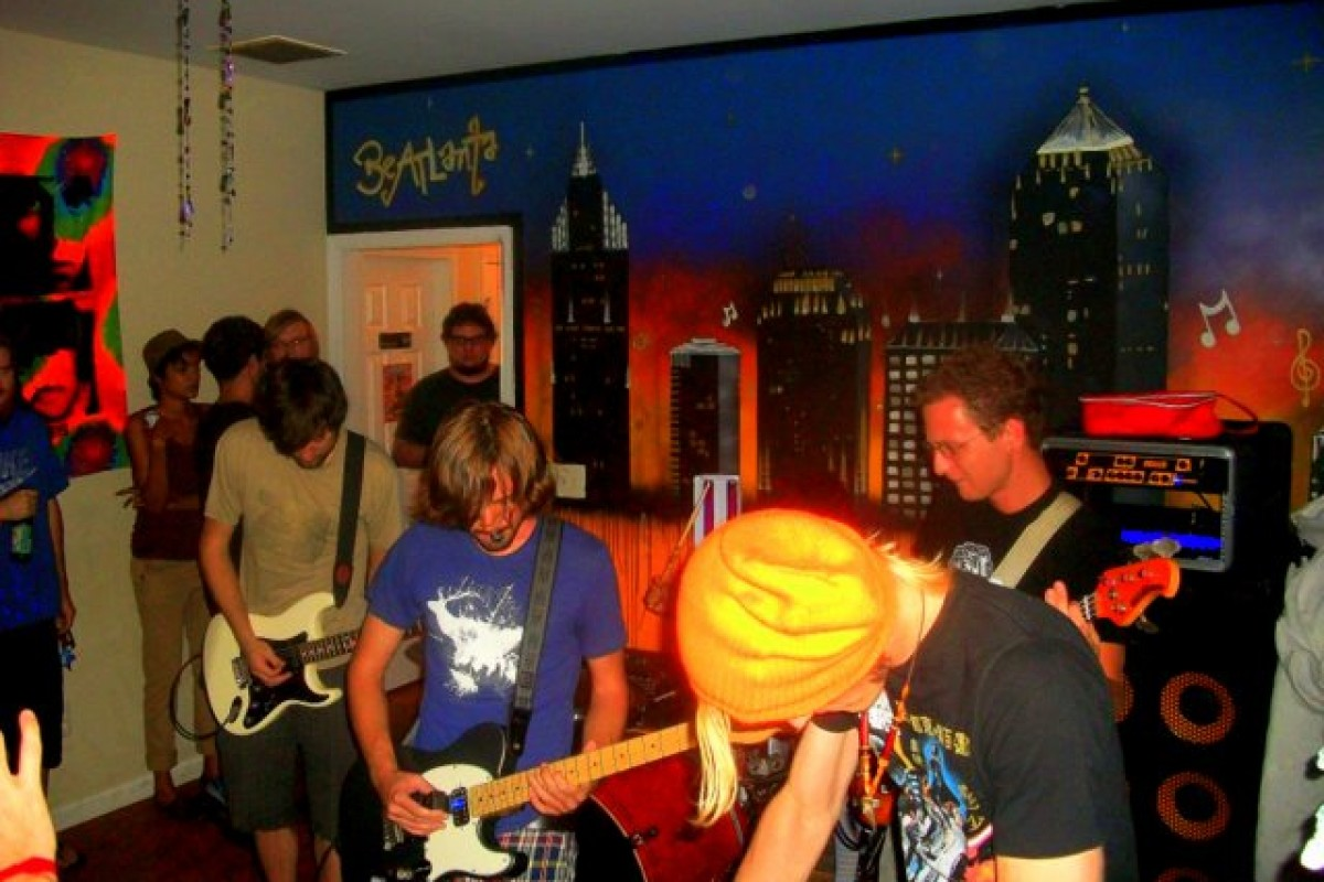 VIDEOs: Grandfather (NY) and Psychedubasaurs Rex for BeATLanta House on August 6, 2011