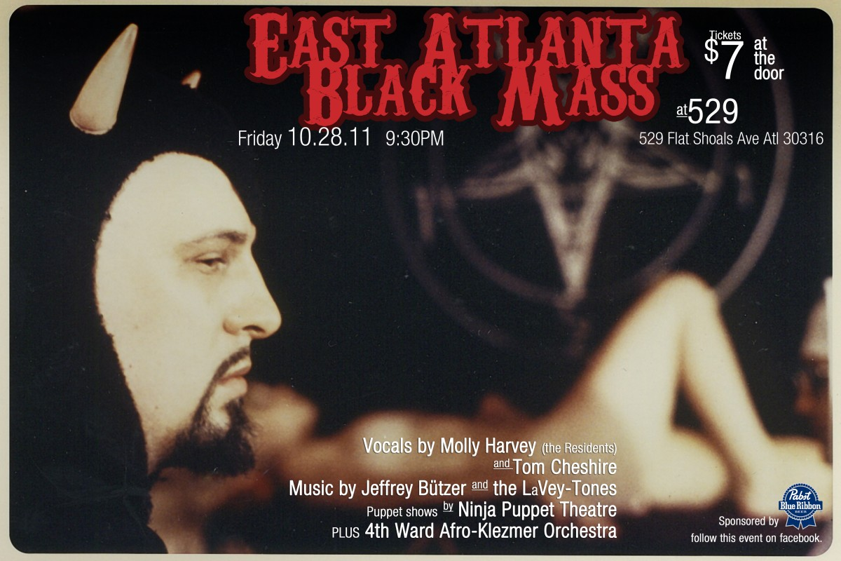 Friday 10/28 – East Atlanta Black Mass – promo video and more…