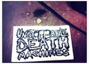 unstoppable death machines sticker pic