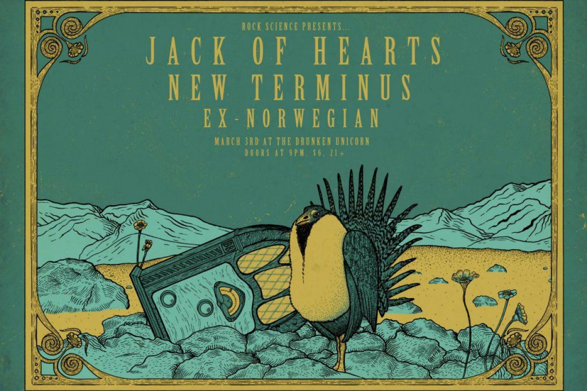 Press Release from Atlanta band 'New Terminus' on their project to raise funds for their upcoming album release…DONATE NOW! + info on their show w/ Jack of Hearts on March 3rd at the Drunken Unicorn