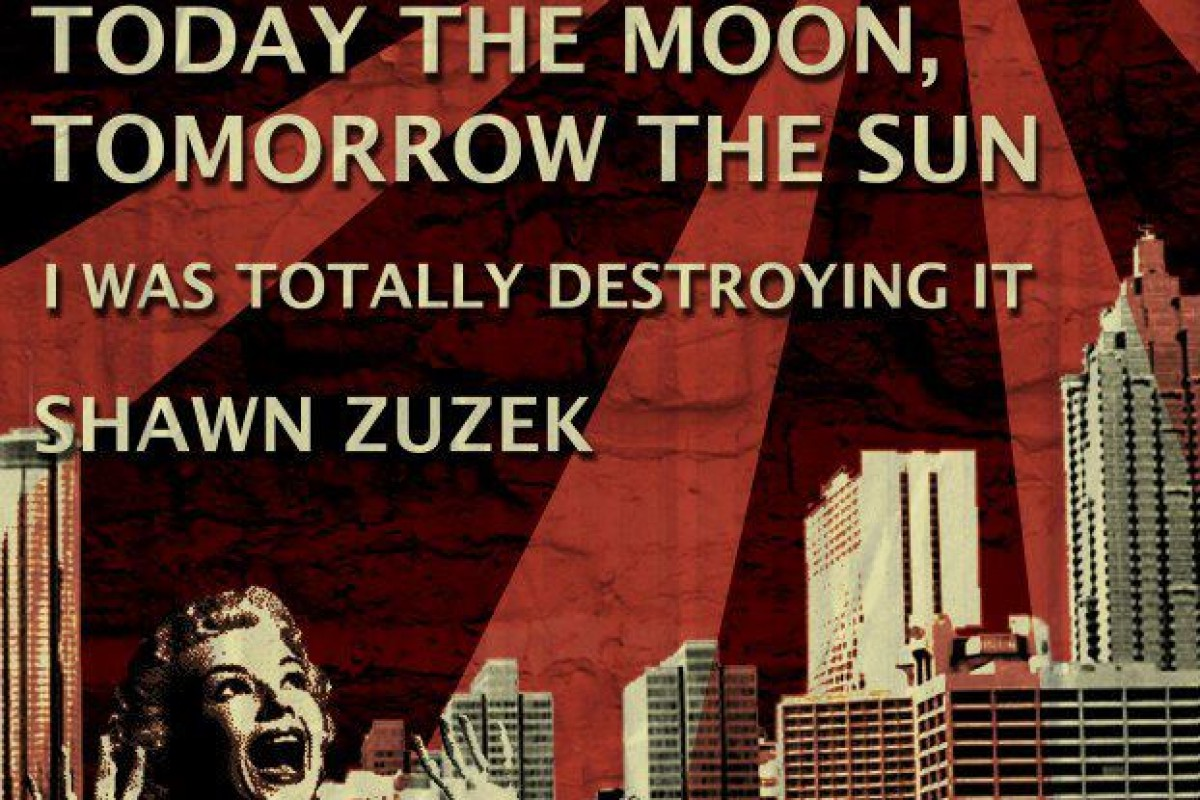 Attention System, Today the Moon, Tomorrow the Sun, I was Totally Destroying It, Shawn Zuzek at the 5 Spot on Friday 3/9