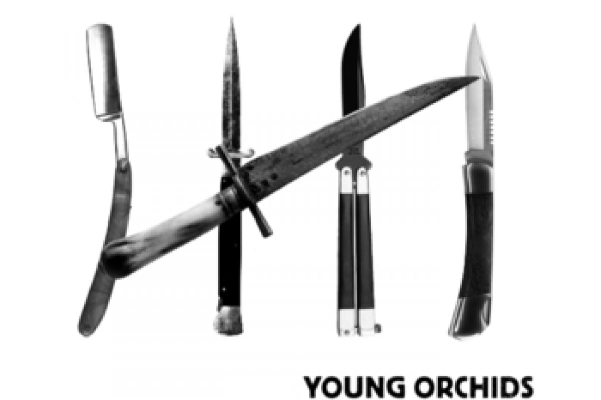"Free Music from Atlanta band 'Young Orchids' – their 5 track EP ""Knives"""