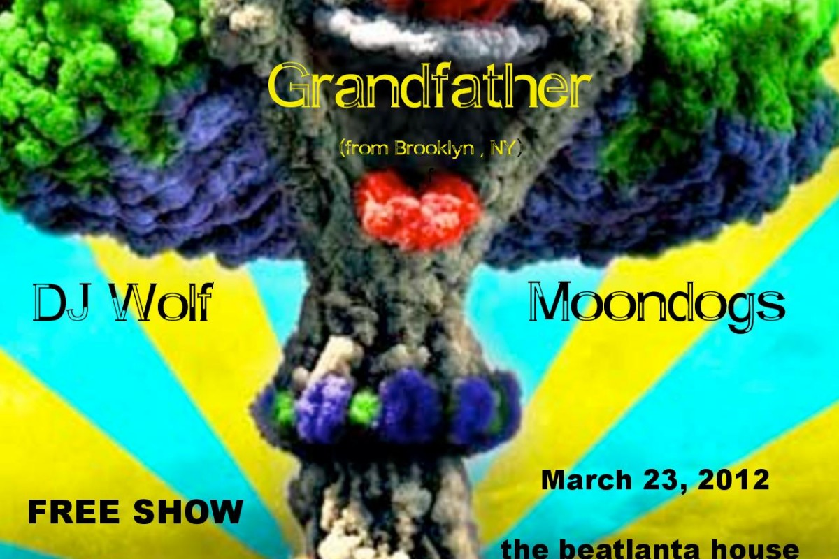 TONIGHT!!! FREE House Show this Friday 3/23 w/ Grandfather (Brooklyn, NY) + Thunder Brother (Nashville) + Moondogs + DJ Wolf
