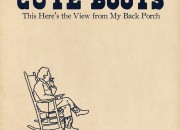 "Cute Boots ""This Here's the View rom my Back Porch"" cover"
