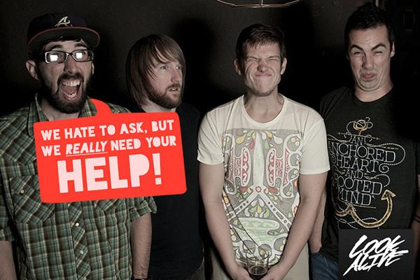 Look Alive fundraiser promo