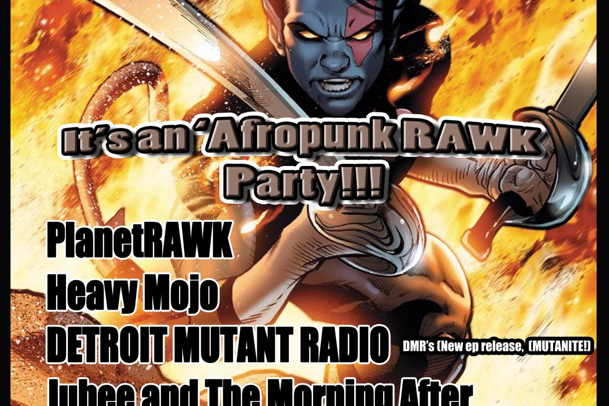 THIS SHOW WAS CANCELLED BY SMITH'S OLDE BAR B/C 1 OUT OF 4 BANDS COULDN'T SHOW DUE TO A CAR ACCIDENT: BULLSHIT! Friday, Jan 18th at Smith's Olde Bar: BeATLanta presents AfroPunk Rawk w/ Detroit Mutant Radio (EP Release) + Planet Rawk + Heavy Mojo +  Jubee and The Morning After