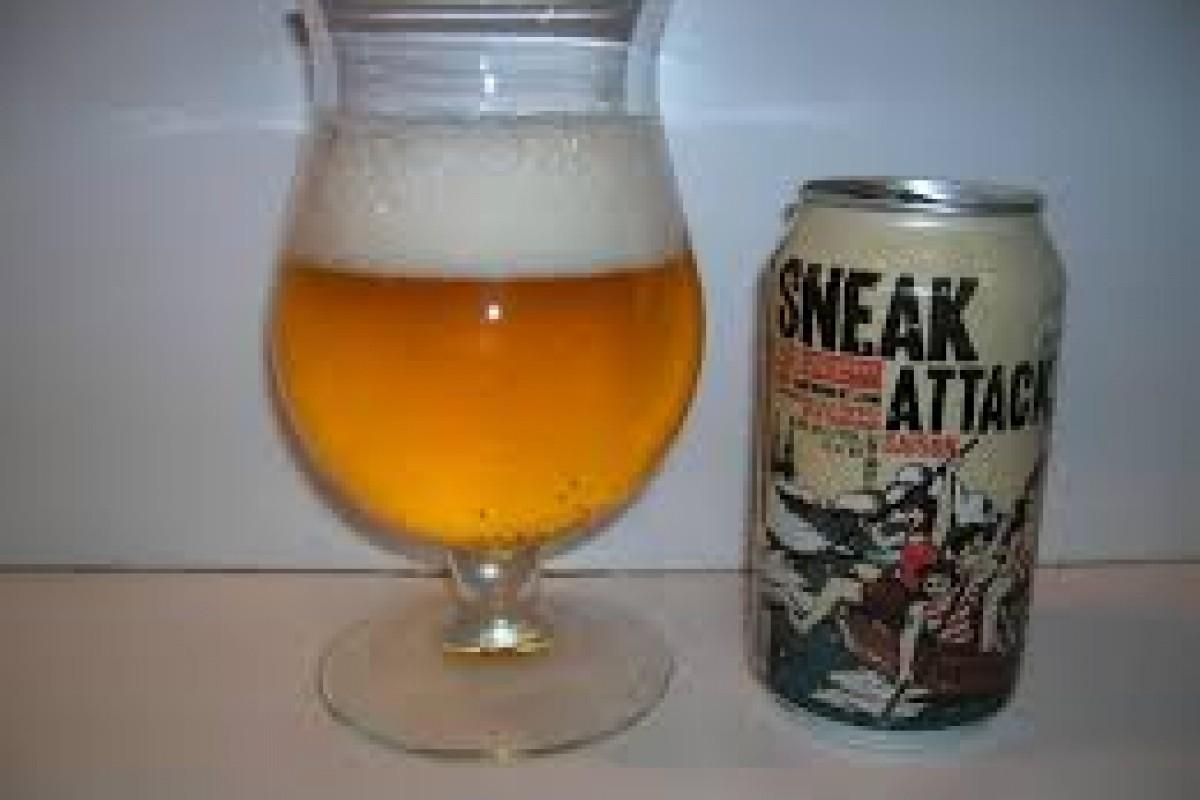 Beer Review: Sneak Attack Saison (21st Amendment Brewery, San Francisco, CA)