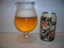 [beer review] Sneak Attack Saison (21st Amendment Brewery)