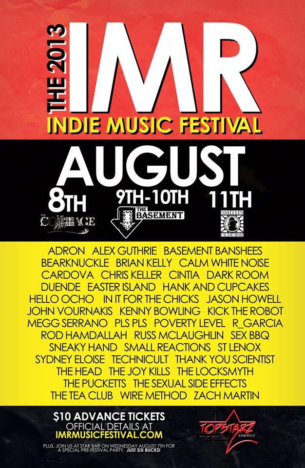[flyer] IMR fest 2013