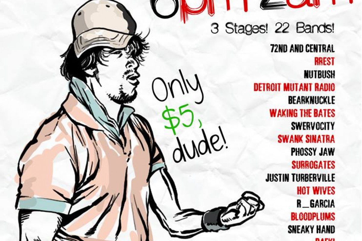 22 BANDS ONLY $5 – beATHlanta Festival in Athens, GA – Saturday 11/2/13