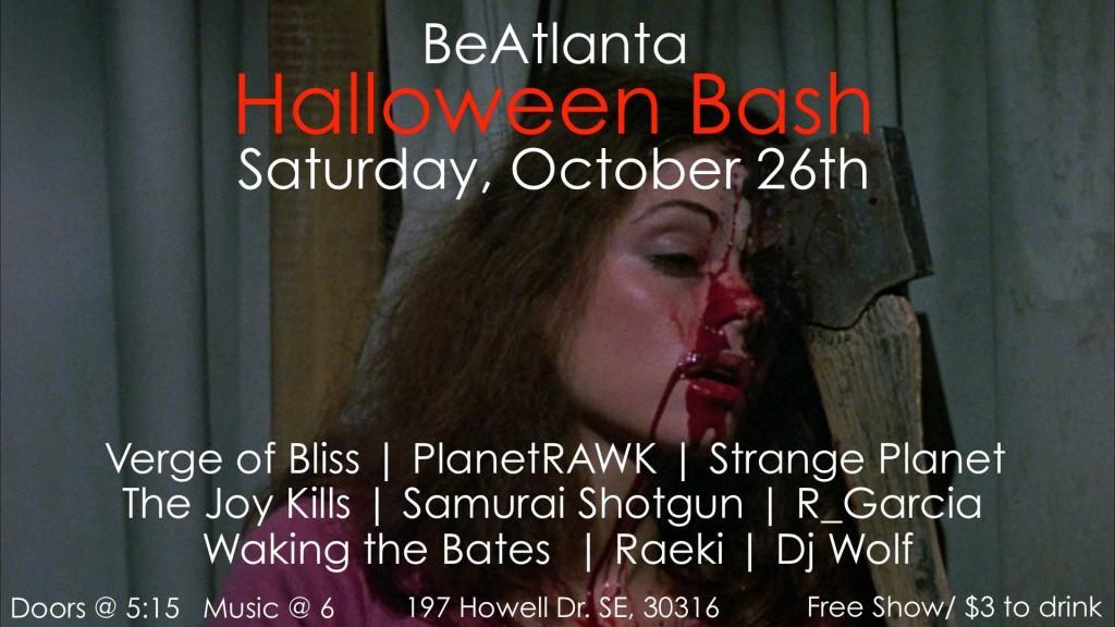 [flyer] halloween house show 2013