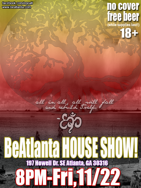 [flyer] house show nov 22 13
