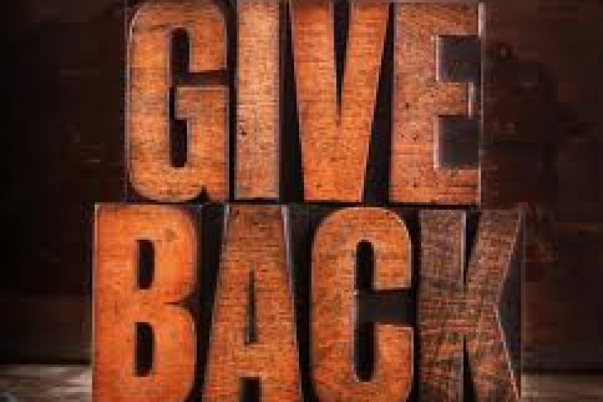 TAKE ACTION! GIVE BACK WEEK: Charity: GiveBack