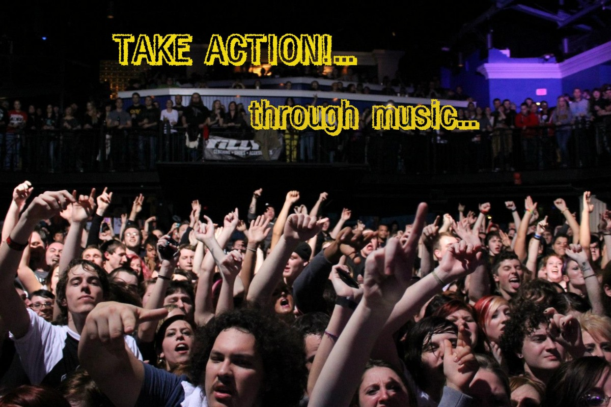 "TAKE ACTION…through MUSIC…""Vicarious"" by Tool"