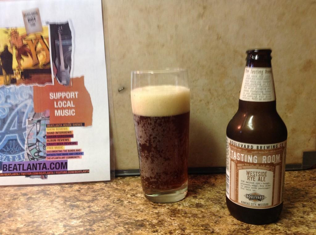 [beer] Boulevard Westside Rye Ale