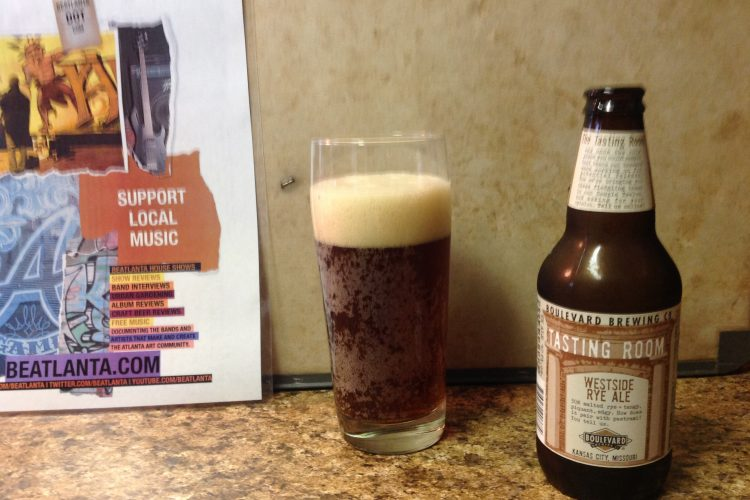 Beer Review: Westside Rye Ale from Boulevard Brewing Company (Kansas City, MO)