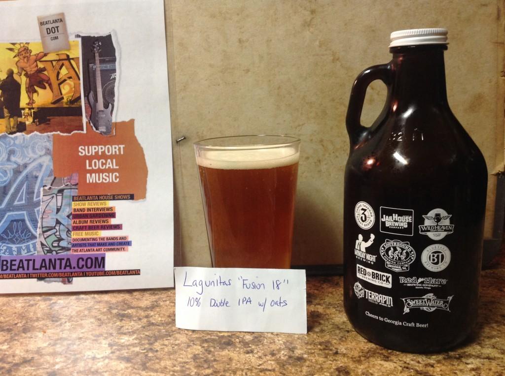 """[beer] lagunitas """"fusion 18"""""""