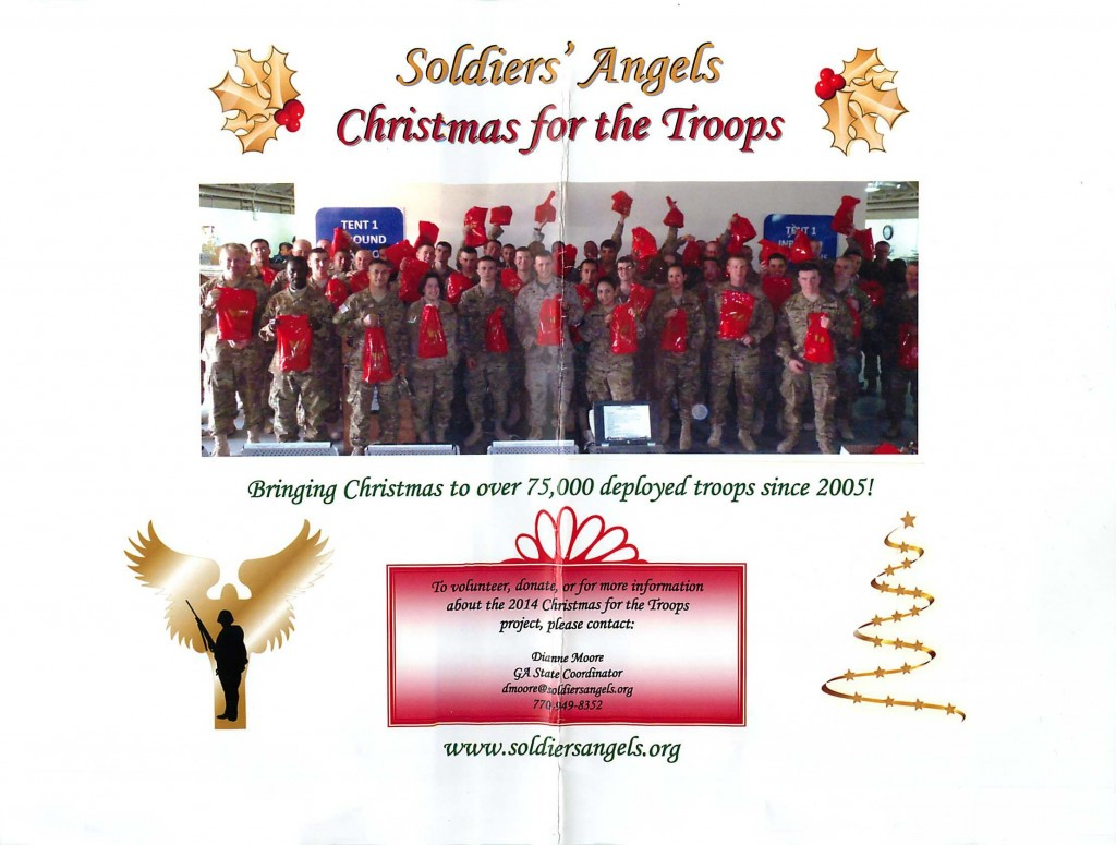 [take action charity] soldiers angels
