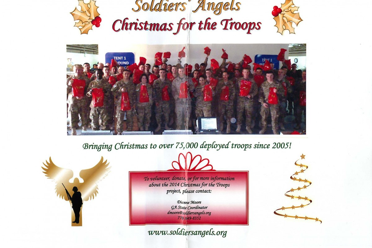 TAKE ACTION! GIVE BACK WEEK: Charity: Soldier's Angels – Christmas for the Troops