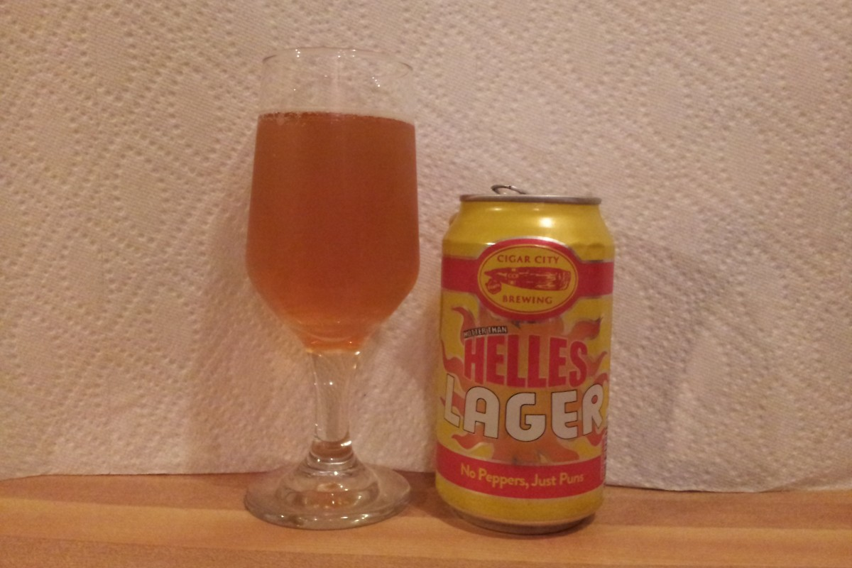 Beer Review: Hotter than Helles Lager – Cigar City Brewing, Tampa, Fl.