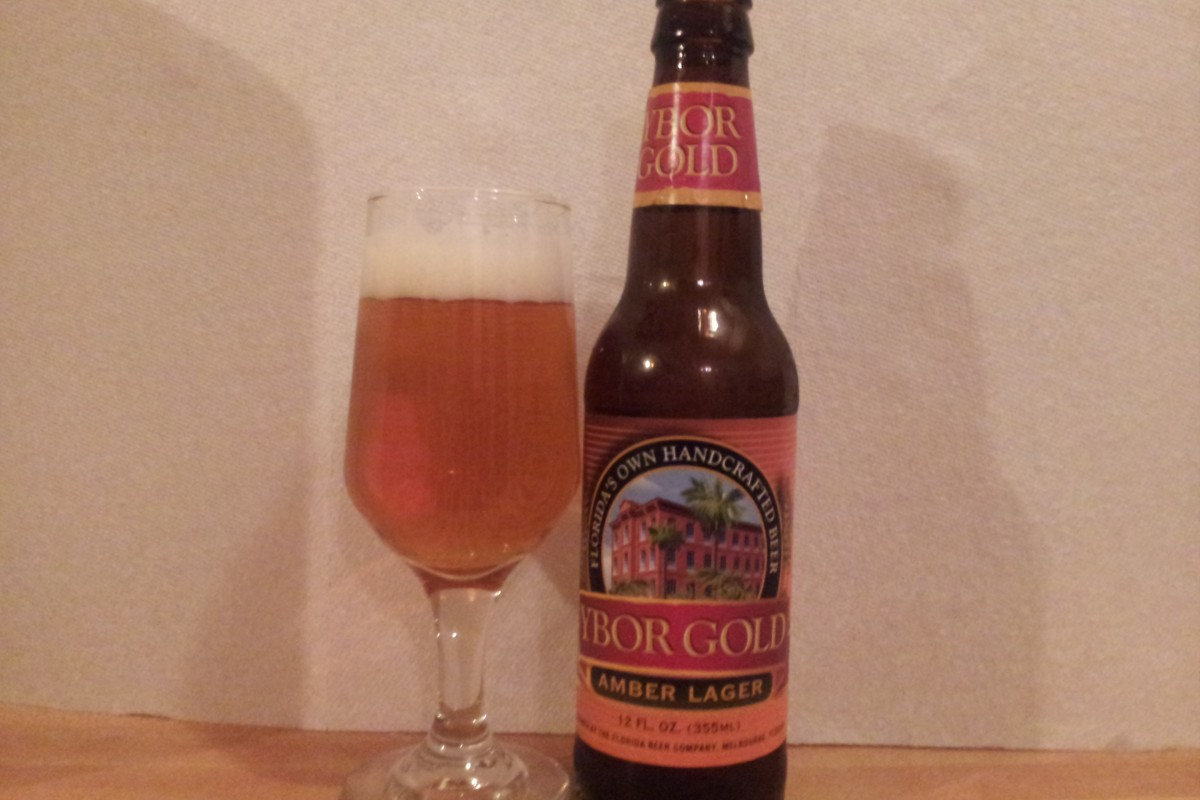 Beer Review: Ybor Gold Amber Lager – The Florida Beer Company, Melbourne, Fl.