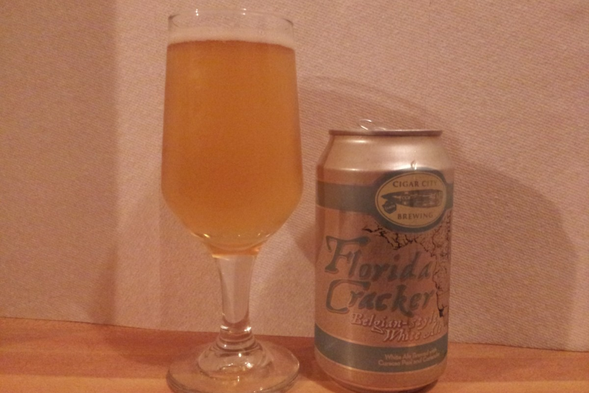 #beerAtlanta :: Beer Review: Cigar City Brewing, Tampa, Fl. – Florida Cracker Belgian-style White Ale