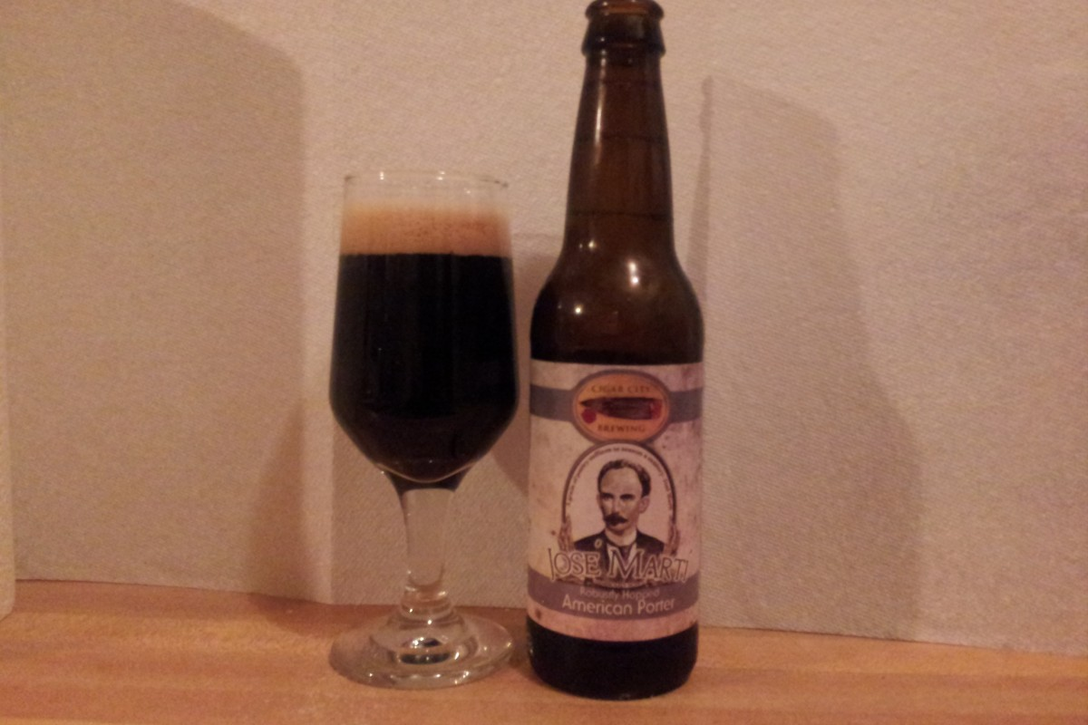 #beerAtlanta :: Beer Review: Cigar City Brewing, Tampa, Fl. – Jose – Marti Robustly Hopped American Porter