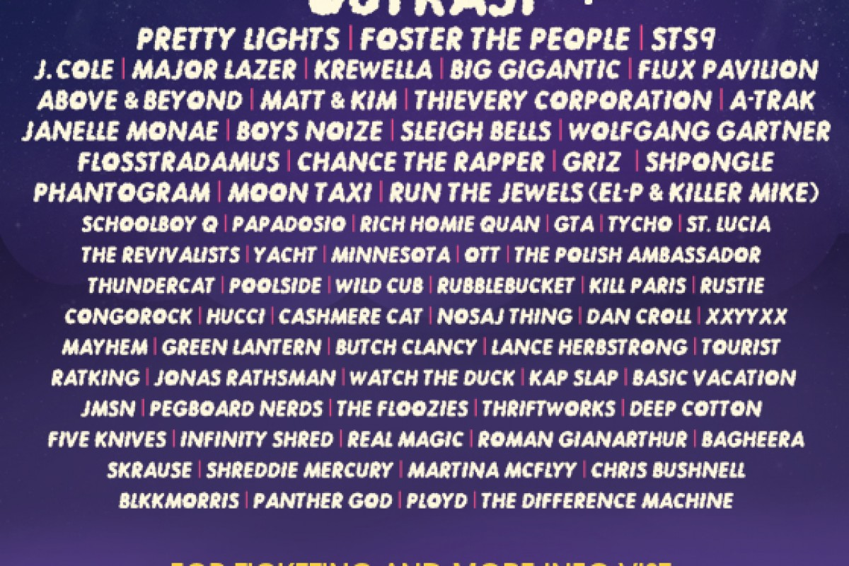 CounterPoint Festival 2014 – Lineup is in! Outkast + many more..