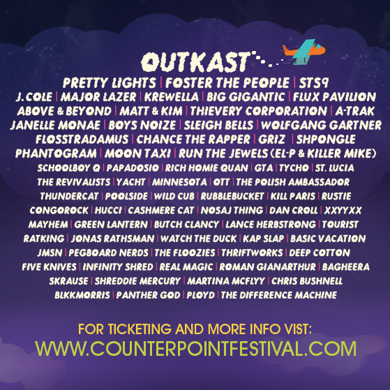Counterpoint lineup 2014