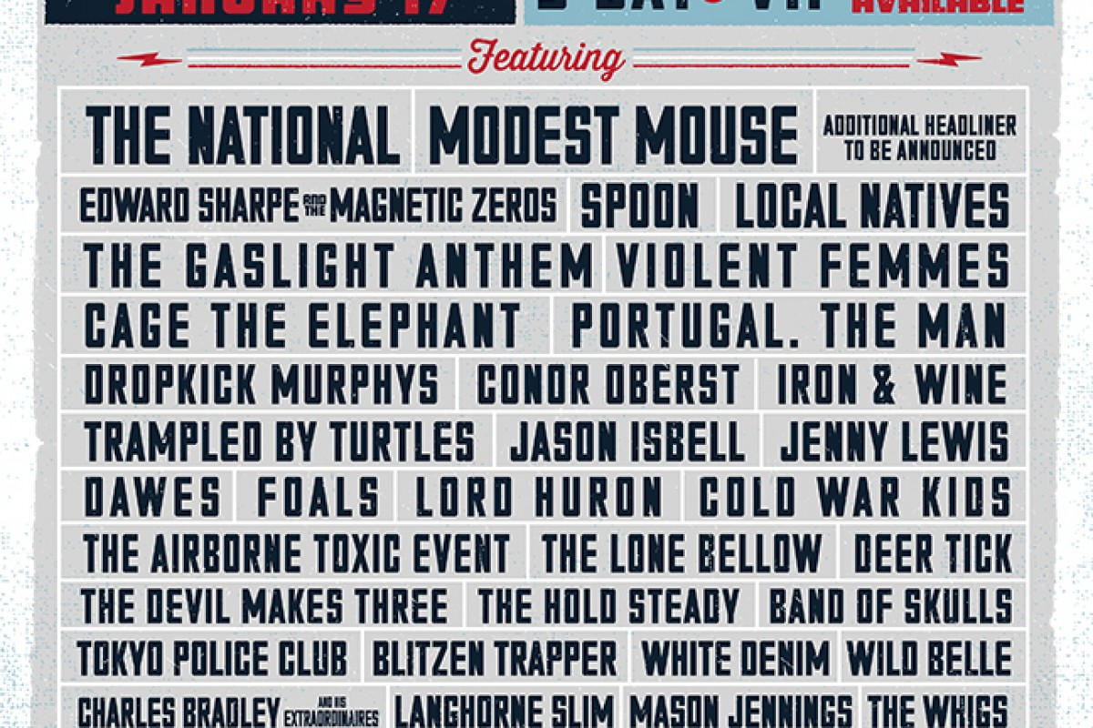 Shaky Knees 2014: Lineup is out! Modest Mouse, Violent Femmes + many more at Atlantic Station
