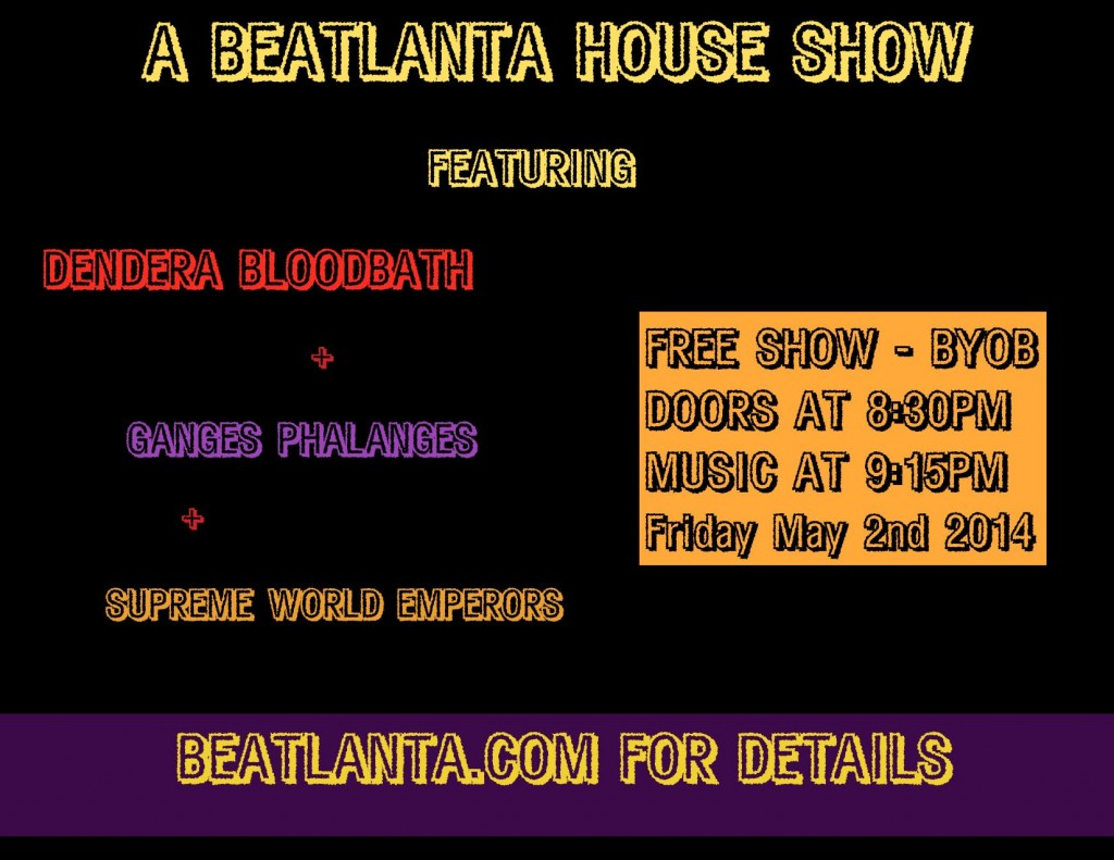 [FLYER] BA HOUSE SHOW may 2nd 2014-page-001