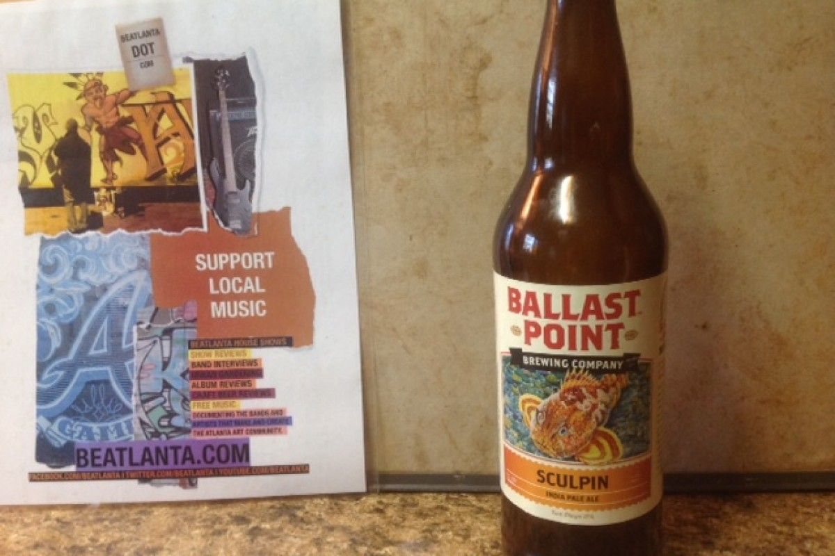 BEER REVIEW: Sculpin Indian Pale Ale from Ballast Point Brewery
