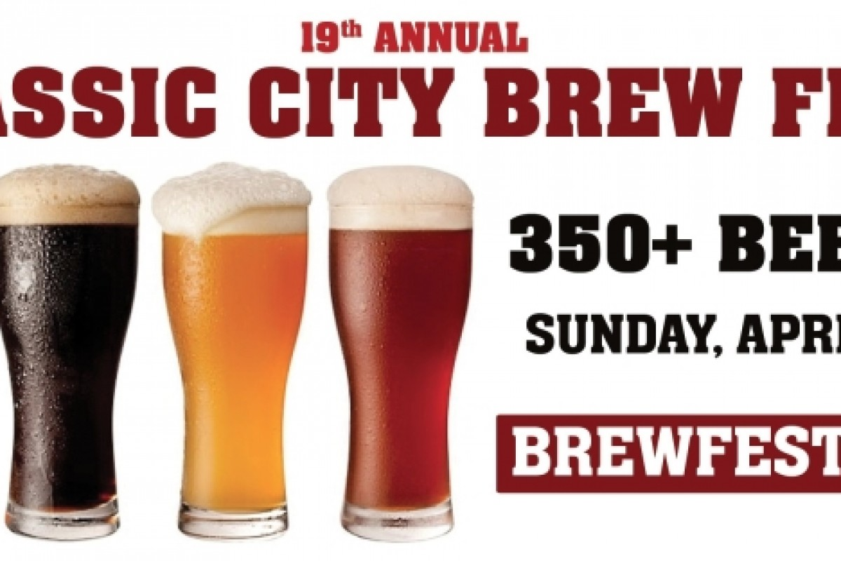BEER FESTIVAL: Classic City Brew Fest in Athens, GA – Sunday, 4/13/14