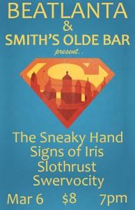 [flyer] BA show 3.6.14 smiths