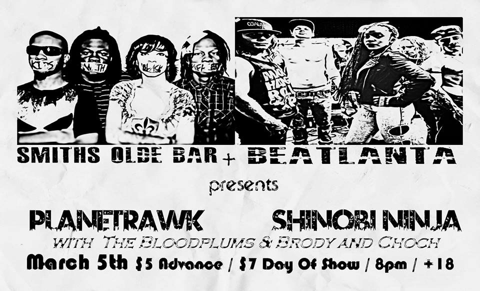 [flyer] BA smiths show march 5 14