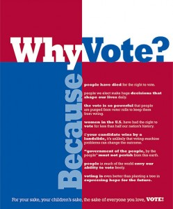[take action] Why Vote