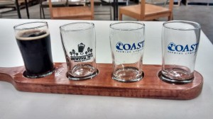 coast brewing flights