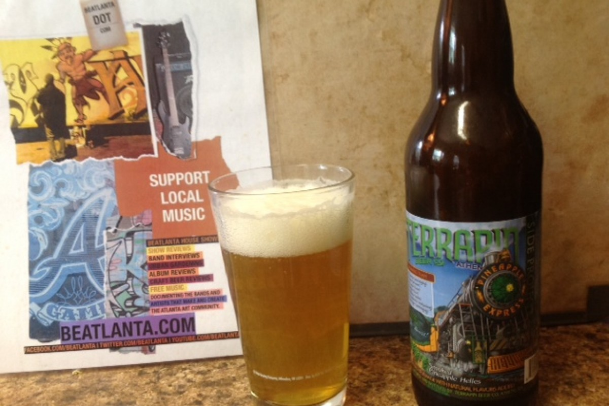 #beerAtlanta :: BEER REVIEW: Terrapin Pineapple Express – Smoked Pineapple Helles