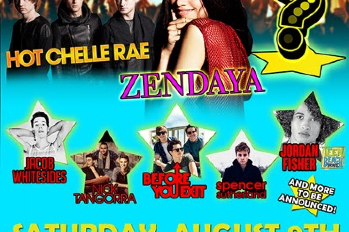 Saturday, August 9th at Six Flags Over Georgia – The Run Around Pop Experience w/ Before you Exit + more