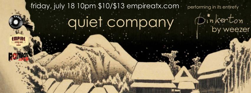 quiet company promo