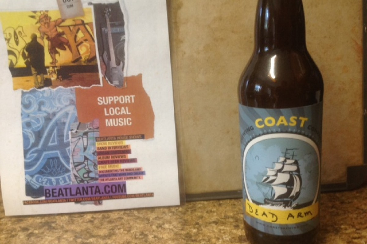 #beerAtlanta :: BEER REVIEW: Coast Brewing Company – Dead Arm Pale Ale