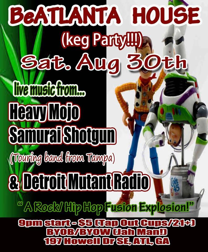 [flyer house show 8.30.2014] ba house show