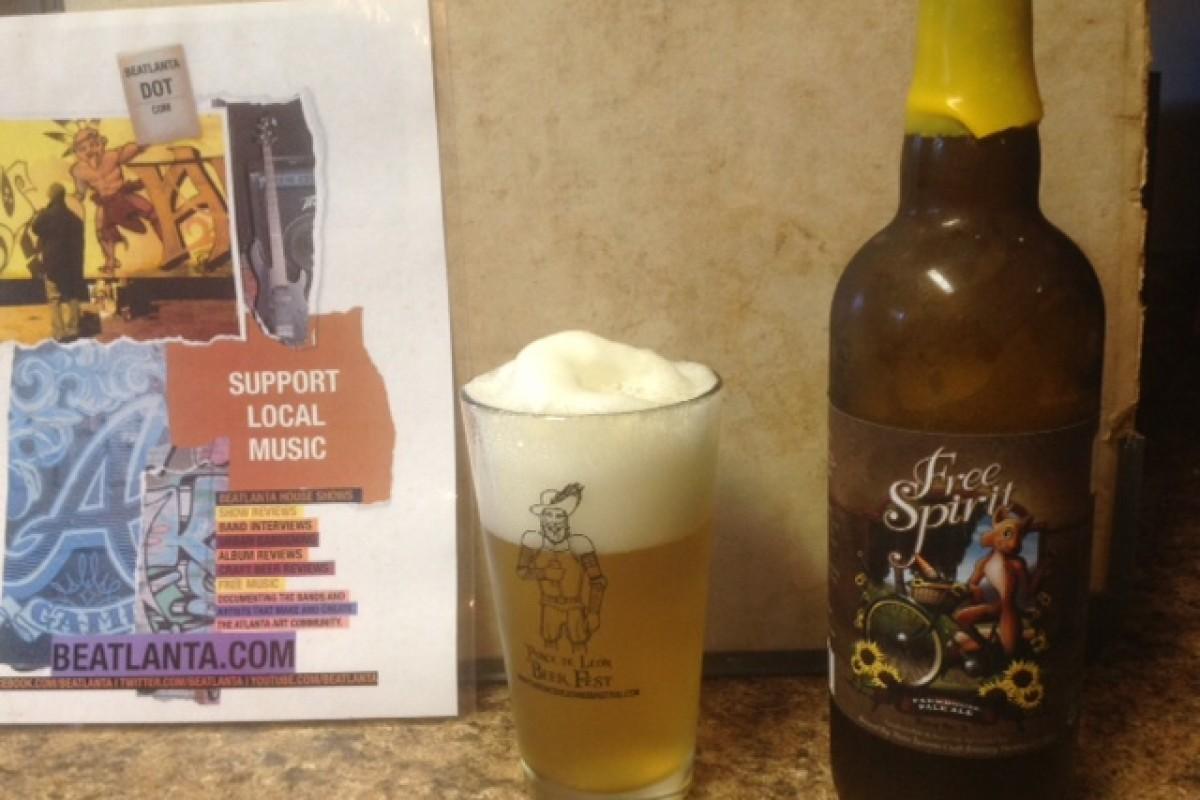 #beerAtlanta :: Beer of the Week: Free Spirit Farmhouse Pale Ale – Three Taverns Brewery (Decatur, GA)