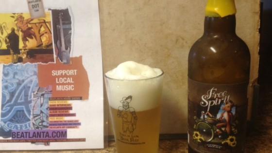 [beer] Free Spirit Farmhouse Pale Ale - Three Taverns Brewery (Decatur, GA)