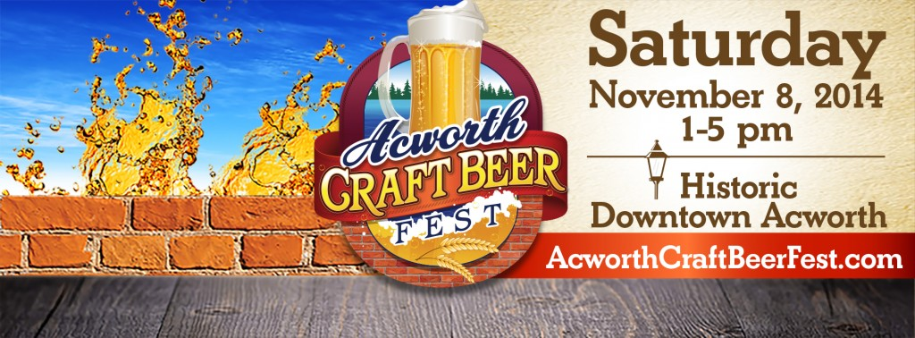 acworth beer fest promo