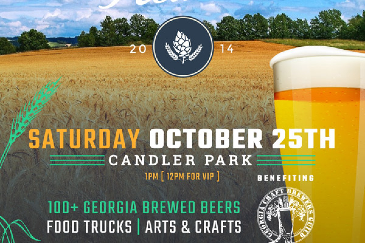 BEER FESTIVAL :: THIS SAT 10/25 – The Georgia Craft Beer Festival in Candler Park