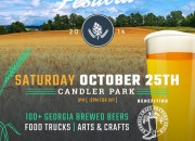 [flyer] Ga craft beer fest candler park 2014