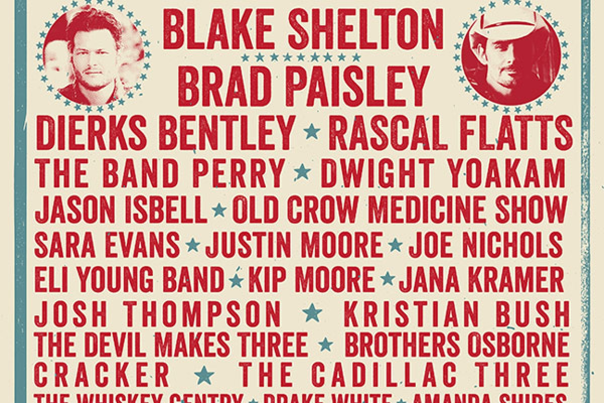Shaky Boots Country Music Festival in Kennesaw :: May 16th, 17th – Some of the biggest names in Country today
